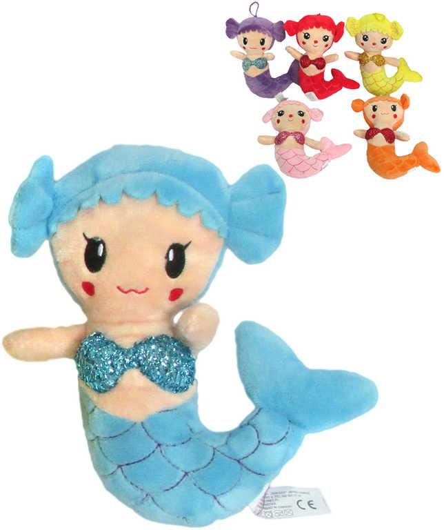 PLYŠ Panenka mořská panna 20 cm - 6 barev