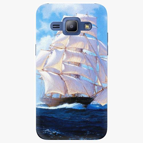 Plastový kryt iSaprio - Sailing Boat - Samsung Galaxy J1