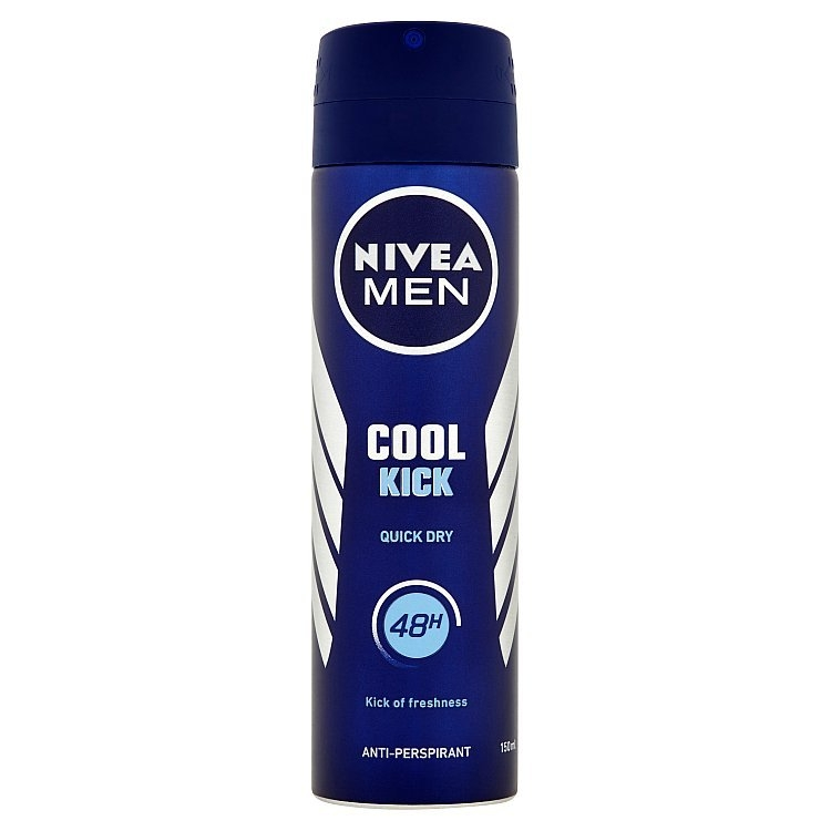 Men Cool Kick antiperspirant ve spreji 150 ml