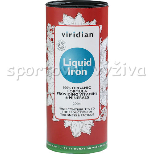 Viridian Liquid Iron 200ml