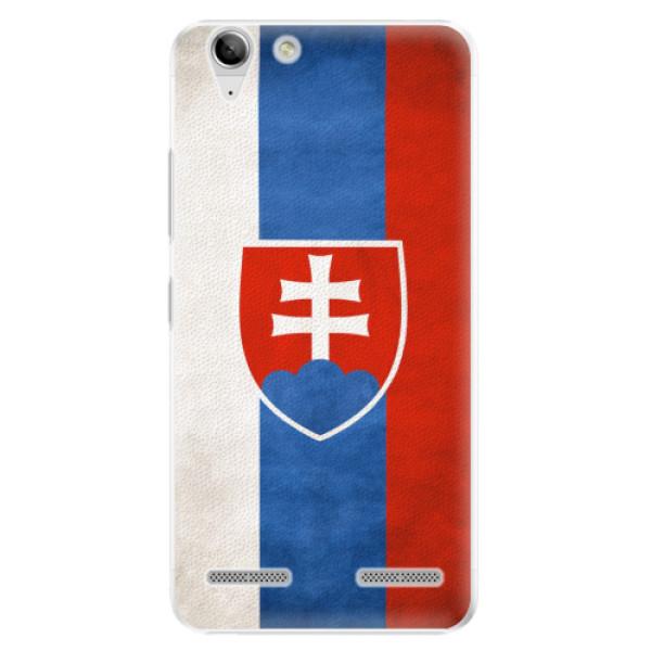 Plastové pouzdro iSaprio - Slovakia Flag - Lenovo Vibe K5