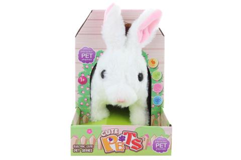 Plyš králík na baterie
