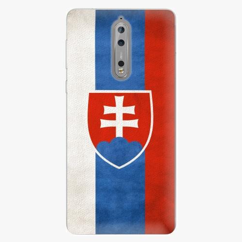 Plastový kryt iSaprio - Slovakia Flag - Nokia 8