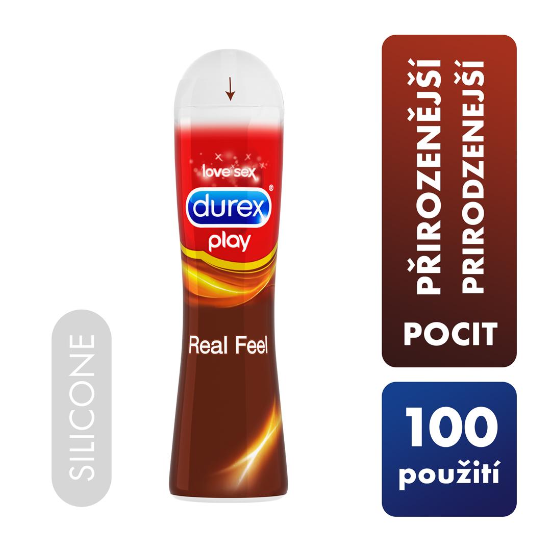 Lubrikační gel Durex Play Real Feel 50 ml
