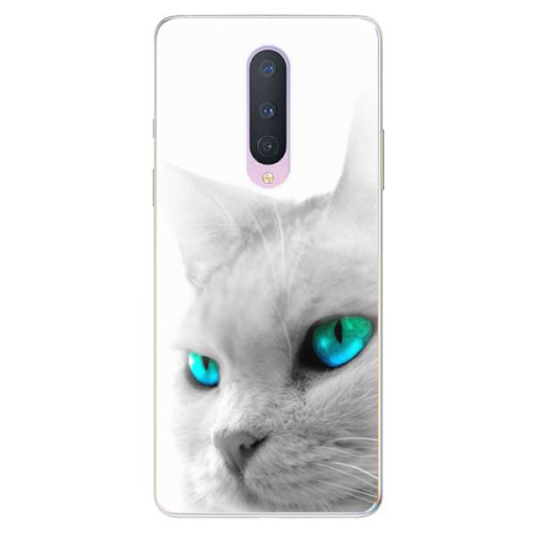 Odolné silikonové pouzdro iSaprio - Cats Eyes - OnePlus 8