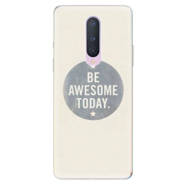 Odolné silikonové pouzdro iSaprio - Awesome 02 - OnePlus 8