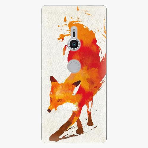 Plastový kryt iSaprio - Fast Fox - Sony Xperia XZ2
