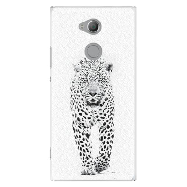 Plastové pouzdro iSaprio - White Jaguar - Sony Xperia XA2 Ultra