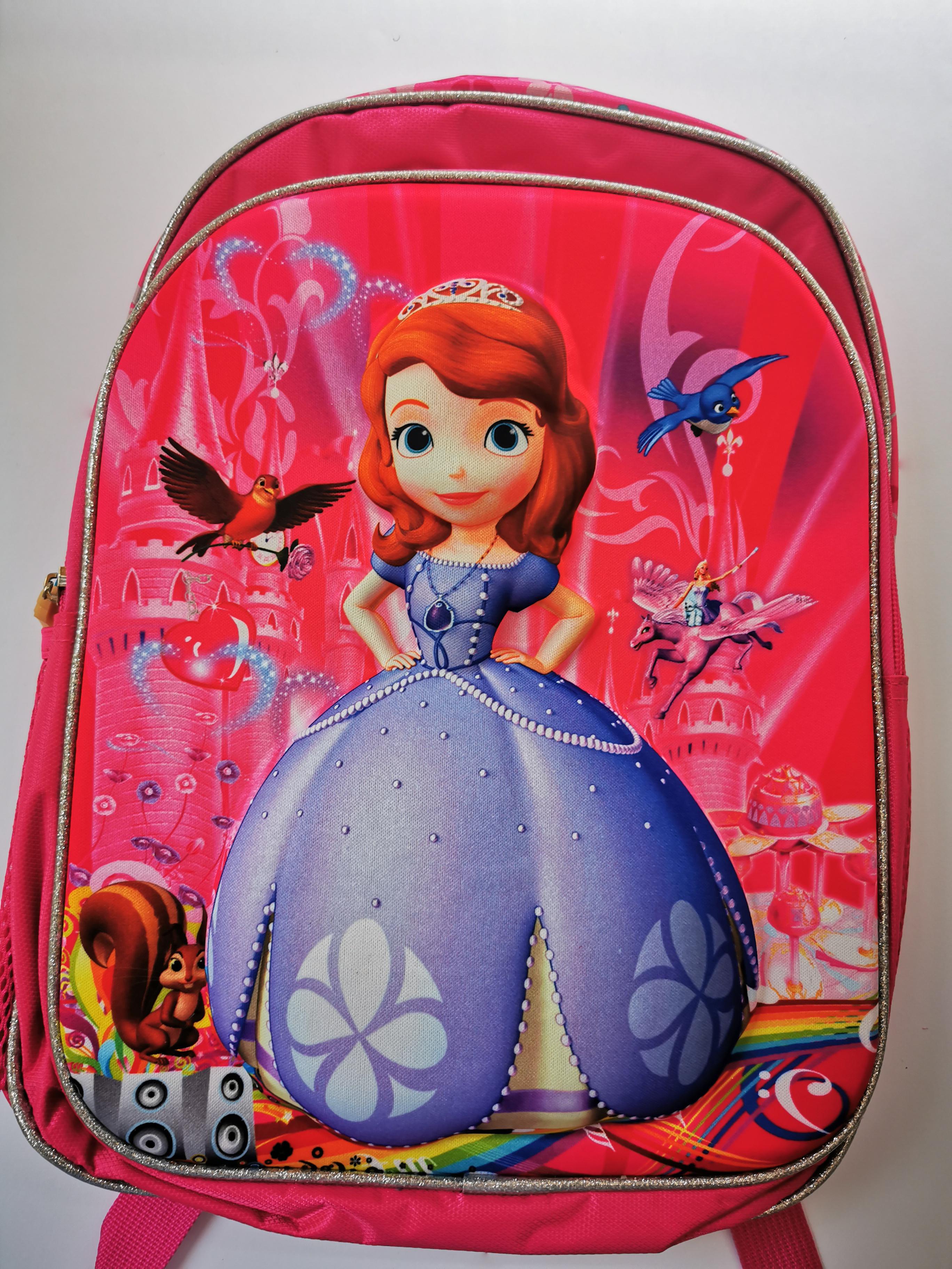 Dětský batůžek - Princezna v šatech