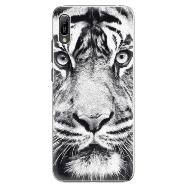Plastové pouzdro iSaprio - Tiger Face - Huawei Y6 2019