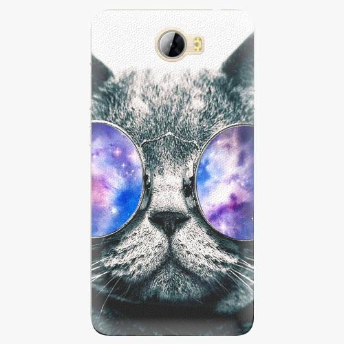 Plastový kryt iSaprio - Galaxy Cat - Huawei Y5 II / Y6 II Compact
