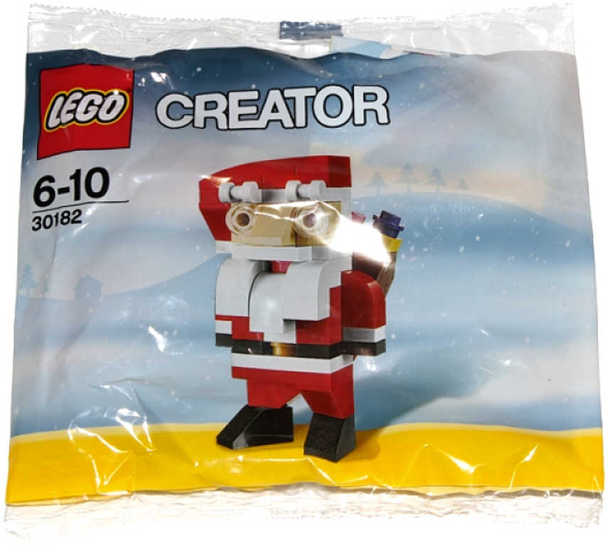 LEGO CREATOR Santa Claus figurka v sáčku 30182