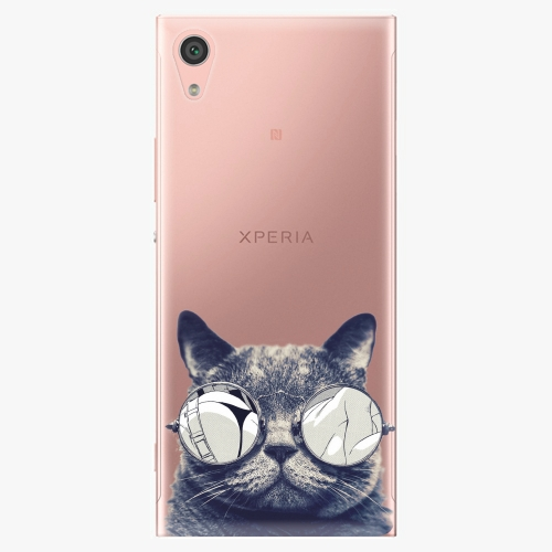 Plastový kryt iSaprio - Crazy Cat 01 - Sony Xperia XA1