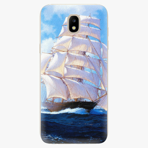 Silikonové pouzdro iSaprio - Sailing Boat - Samsung Galaxy J5 2017