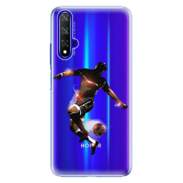 Plastové pouzdro iSaprio - Fotball 01 - Huawei Honor 20