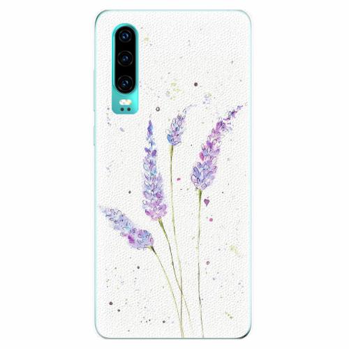 Silikonové pouzdro iSaprio - Lavender - Huawei P30