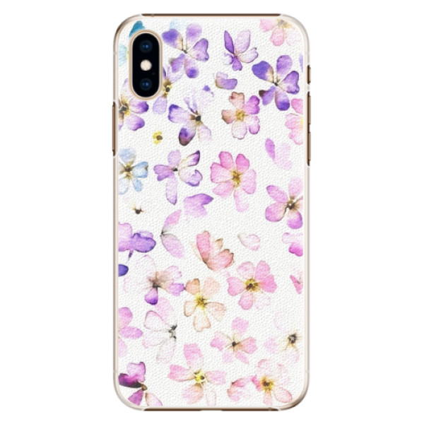 Plastové pouzdro iSaprio - Wildflowers - iPhone XS