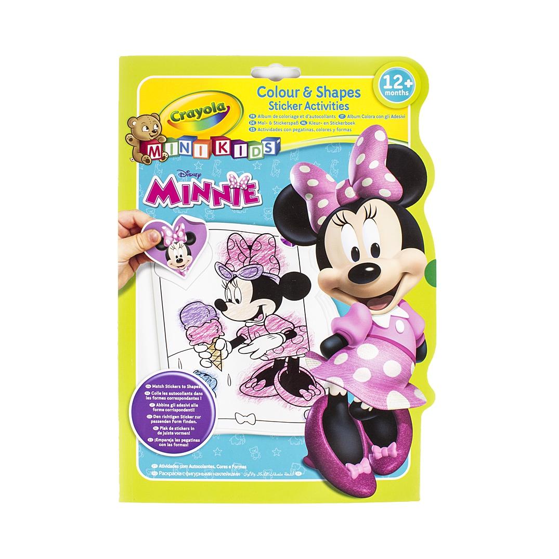 Omalovánky se samolepkami Minnie