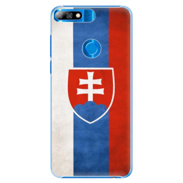 Plastové pouzdro iSaprio - Slovakia Flag - Huawei Y7 Prime 2018