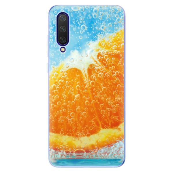 Odolné silikonové pouzdro iSaprio - Orange Water - Xiaomi Mi 9 Lite