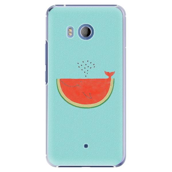 Plastové pouzdro iSaprio - Melon - HTC U11