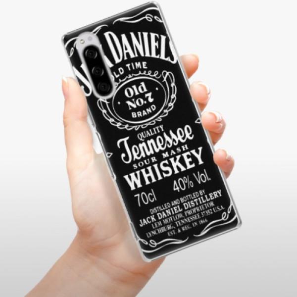 Plastové pouzdro iSaprio - Jack Daniels - Sony Xperia 5