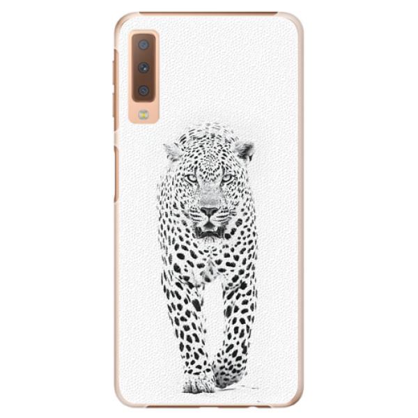 Plastové pouzdro iSaprio - White Jaguar - Samsung Galaxy A7 (2018)