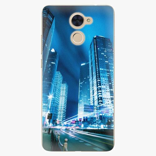 Plastový kryt iSaprio - Night City Blue - Huawei Y7 / Y7 Prime