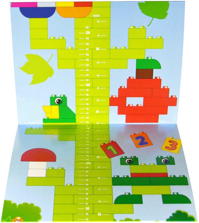 LEGO DUPLO Metr papírový na zeď 6117586 STAVEBNICE