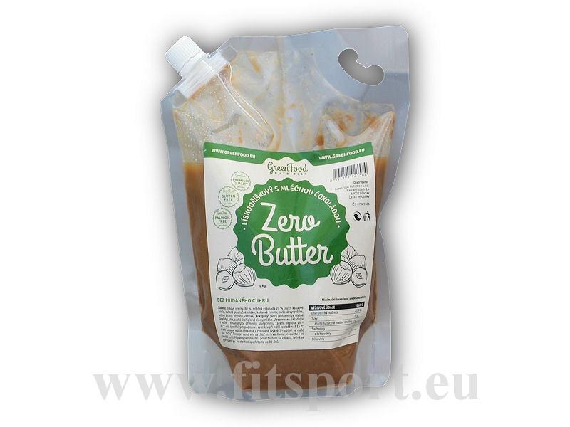 Zero Butter lískový krém s mléč.čokoládou 1kg-s-mlecnou-cokoladou