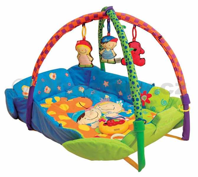 K´S KIDS Deka hrací s hrazdičkou pro miminko