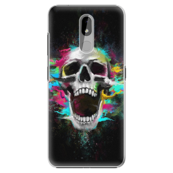 Plastové pouzdro iSaprio - Skull in Colors - Nokia 3.2