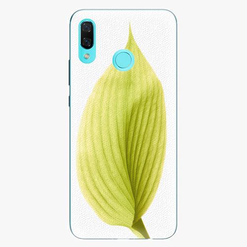 Plastový kryt iSaprio - Green Leaf - Huawei Nova 3