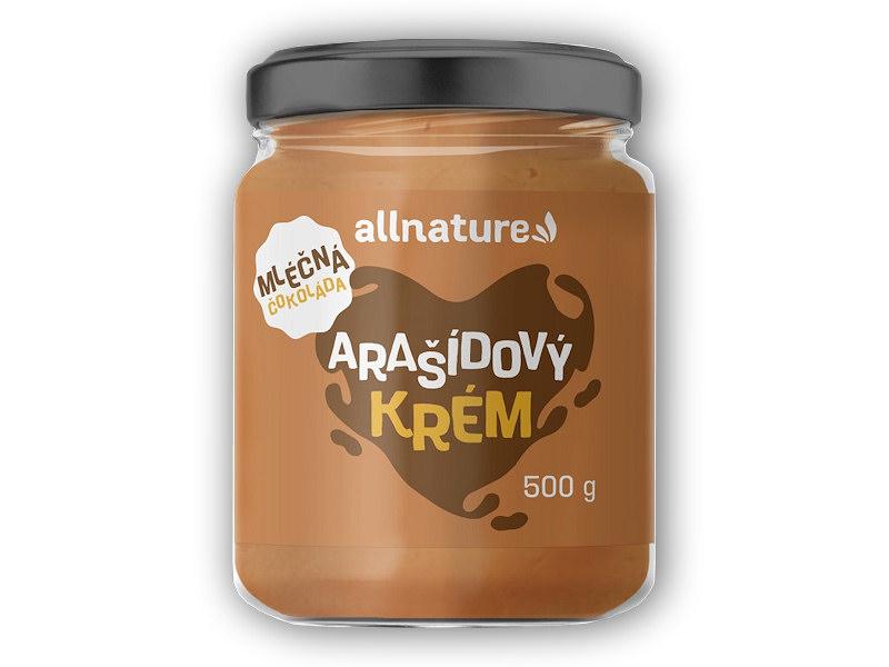 Arašídové máslo s <b>mléčnou</b> čoko 500g