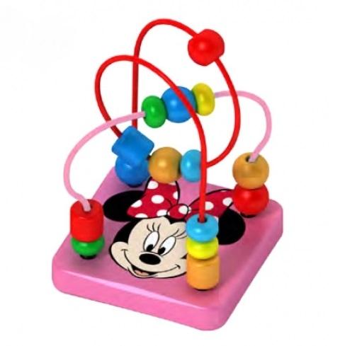 Dřevěný interaktivní Disney labyrint, Minnie - 9 x 12 cm