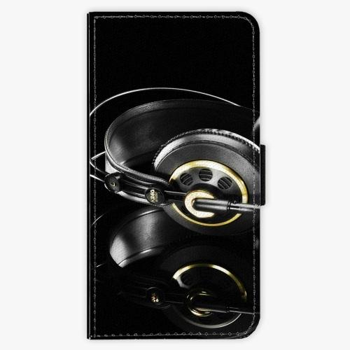 Flipové pouzdro iSaprio - Headphones 02 - Sony Xperia X Compact