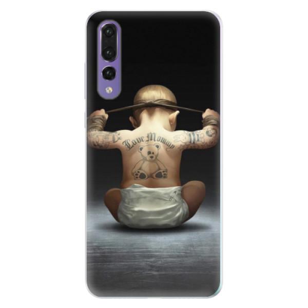 Silikonové pouzdro iSaprio - Crazy Baby - Huawei P20 Pro