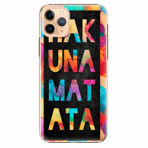 Plastový kryt iSaprio - Hakuna Matata 01 - iPhone 11 Pro Max