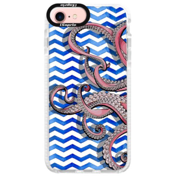 Silikonové pouzdro Bumper iSaprio - Octopus - iPhone 7