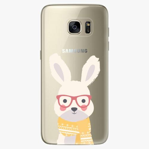 Plastový kryt iSaprio - Smart Rabbit - Samsung Galaxy S7