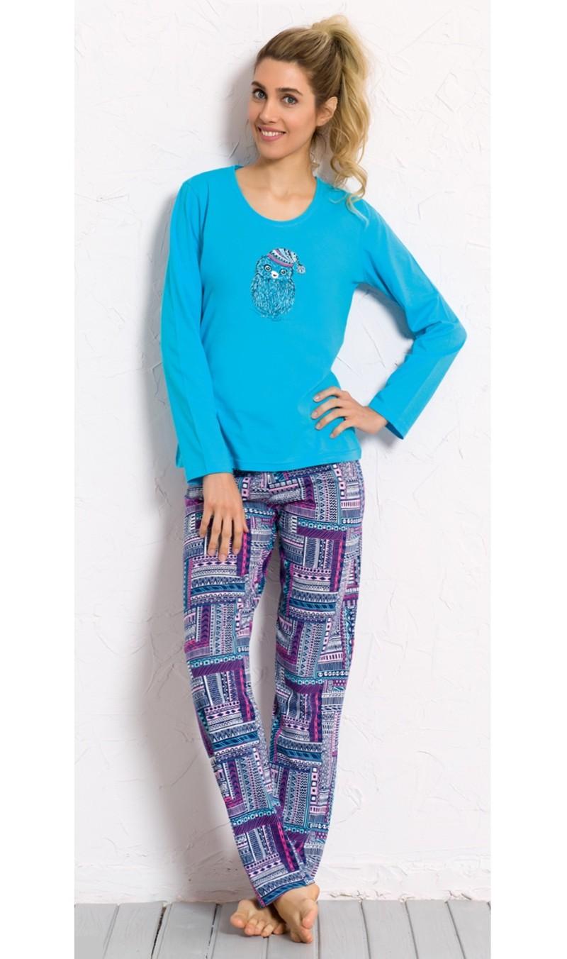 Dámské pyžamo dlouhé Mazlíček
