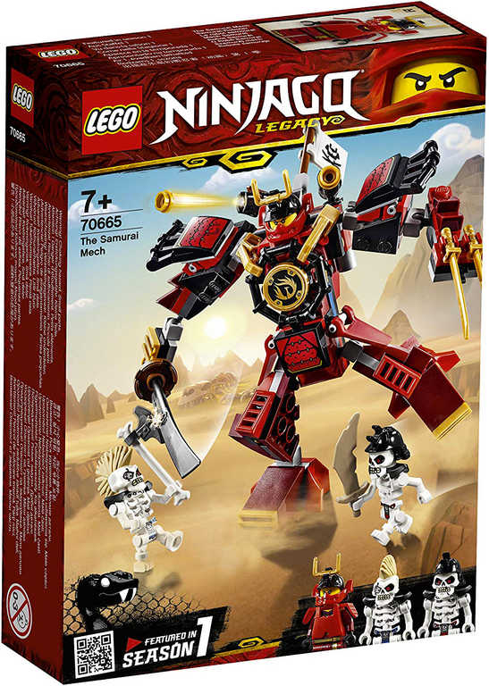 LEGO NINJAGO Samurajův robot 70665