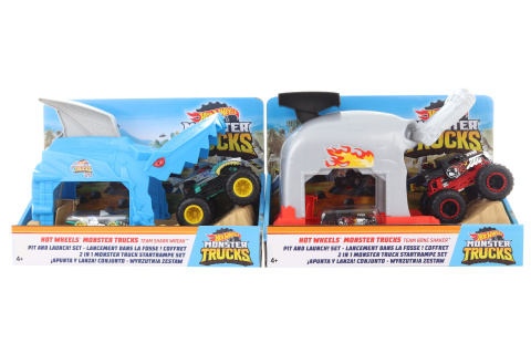 Hot Wheels Monsters trucks závodní herní set GKY01