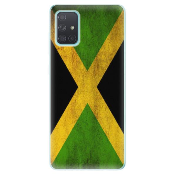 Odolné silikonové pouzdro iSaprio - Flag of Jamaica - Samsung Galaxy A71