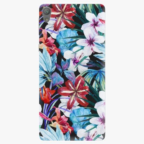 Plastový kryt iSaprio - Tropical Flowers 05 - Sony Xperia E5