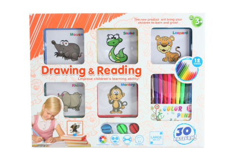 Malovací karty - zvířata