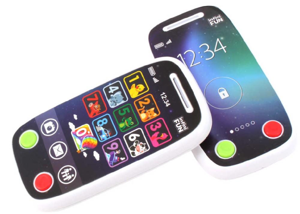 Baby vysílačka/telefon naučný 2v1 + rodičovský mobil na baterie