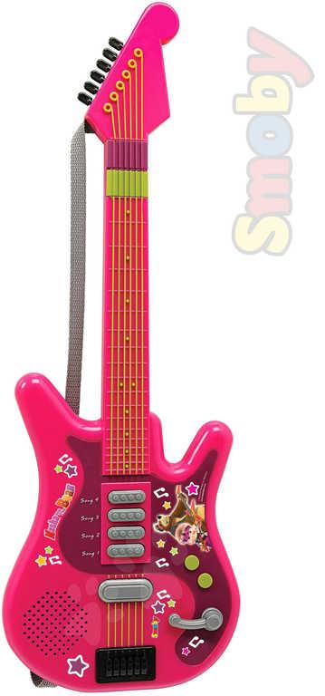 SMOBY Kytara elektrická na baterie Máša a medvěd se zvukem