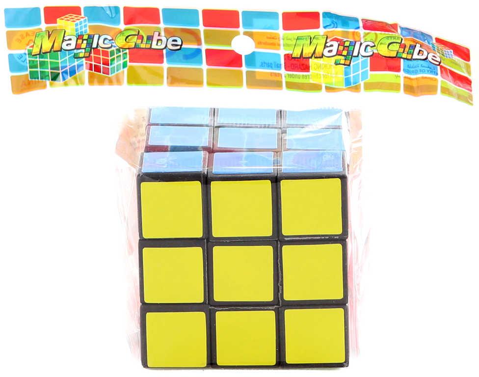 Hra hlavolam 5cm kostka magická v sáčku (Rubikova) plast