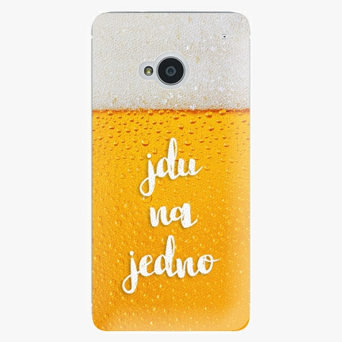 Plastový kryt iSaprio - Jdu na jedno - HTC One M7